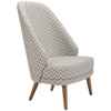 Alissa A941 High Back Lounge Chair