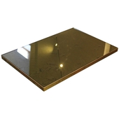 Antique Bronze Mirror Glass Table Top