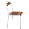 Astra (Iroko) Wood Side Chair