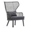 Emma High Back Lounge Chair