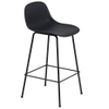 Fiber Barstool with Backrest