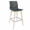 FourSure Wood Barstool