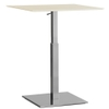 Inox Adjustable Table Base