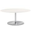 Inox Elliptical Coffee Table Base