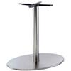 Inox Elliptical Dining Table Base