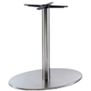 Inox Elliptical Table Base