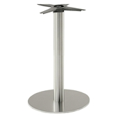 Inox Round Dining Table Base