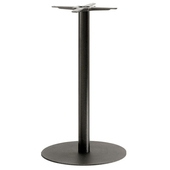 Inox Round Poseur Table Base