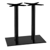 Inox Round Twin Dining Table Base