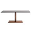 Inox Square Coffee Table Base