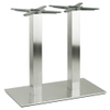 Inox Square Twin Dining Table Base