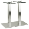 Inox Square Twin Table Base