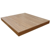 Laminate Table Top With Hardwood Edge