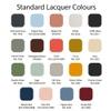 Standard Lacquer Colours