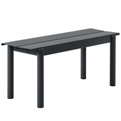 Linear Metal Bench