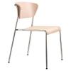 Lisa Wood side chair