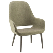 Magda High Back Lounge Chair