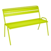 Monceau Bench With Backrest