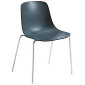 Pure Loop Metal Side Chair