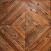 Reclaimed Diagonal Squares Table Top