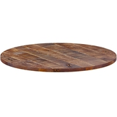 Rustic Solid Oak Table Top