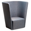 Velour High Back Lounge Chair