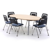 Visual Acute Meeting Table