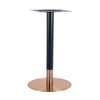 Zeus Bronze and Black Table Base